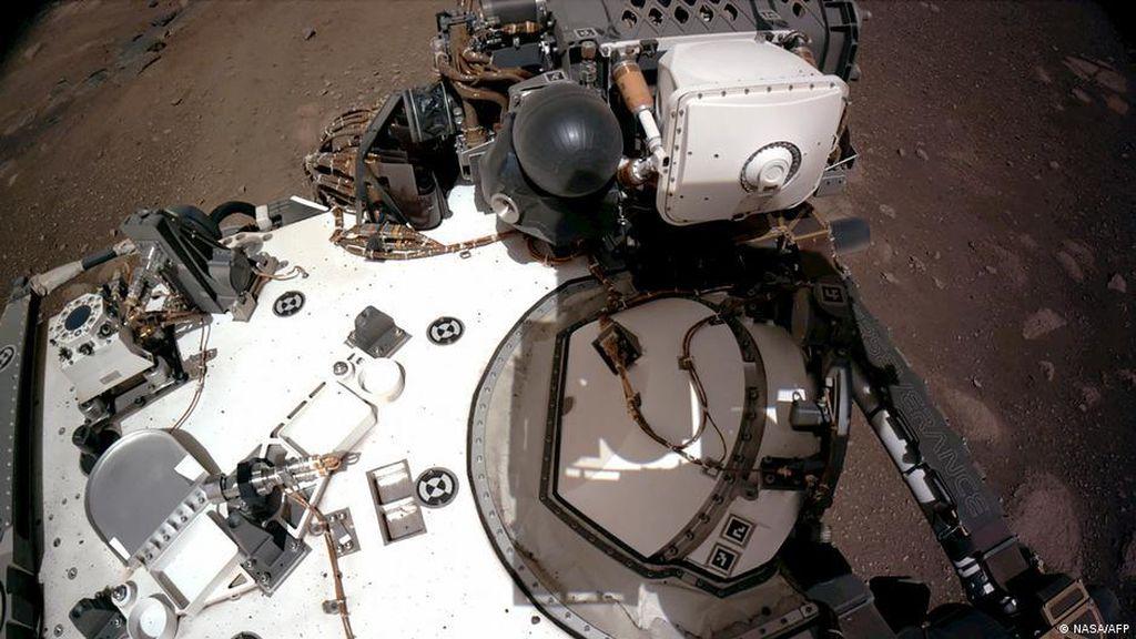 NASA Rilis Video dan Audio Pertama dari Ekspedisi Mars