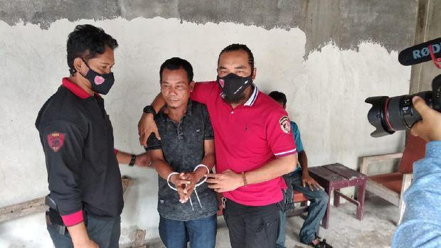 Polda NTB ringkus 2 pria atas kasus perdagangan orang bermodus pekerja migran Indonesia (dok Polda NTB)