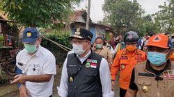 Ridwan Kamil Tinjau Tanggul Jebol Sungai Citarum