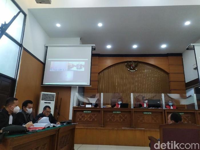 Sidang kasus Gus Nur di PN Jaksel, Selasa (23/2/2021).