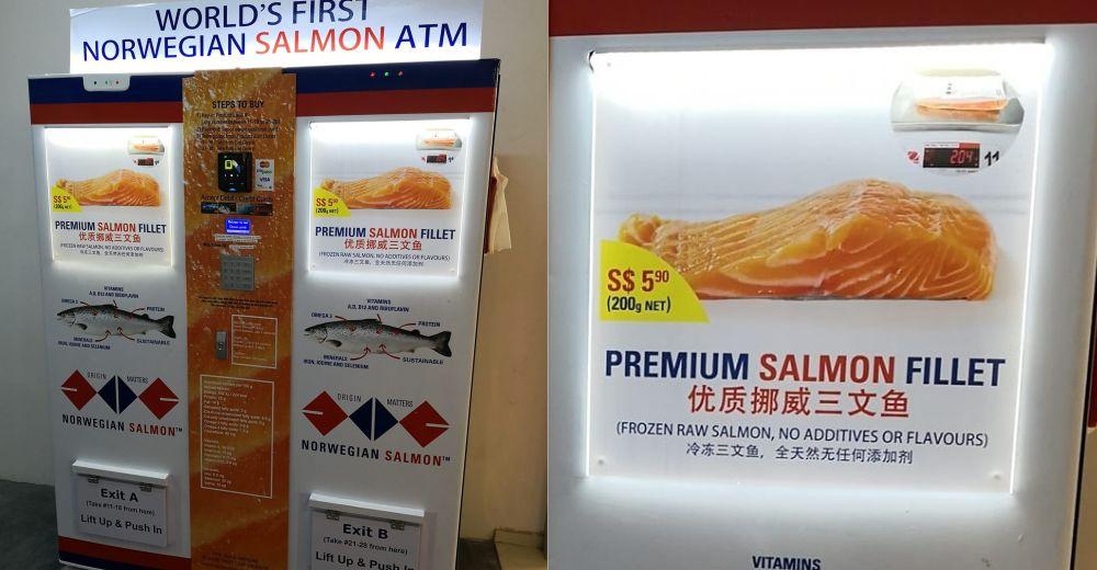 vending machine di singapura