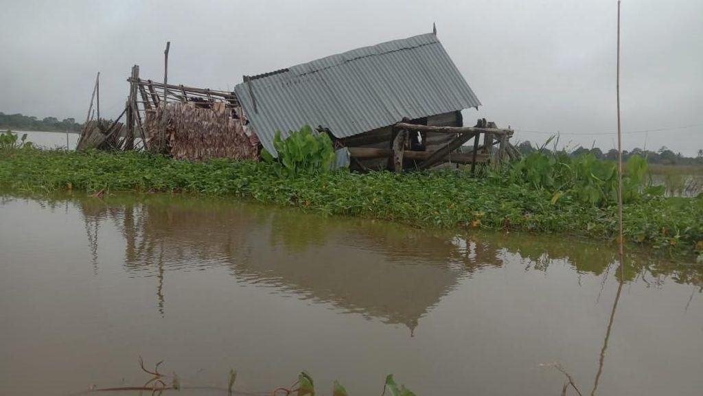 28 Rumah di Sumsel Rusak Akibat Hujan Deras Disertai Angin Kencang
