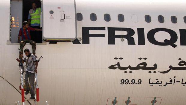 Airbus A340-200 private jet Muammar Khadafi