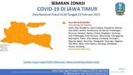Bebas Zona Merah, Seluruh Kabupaten/Kota di Jawa Timur Berubah Oranye