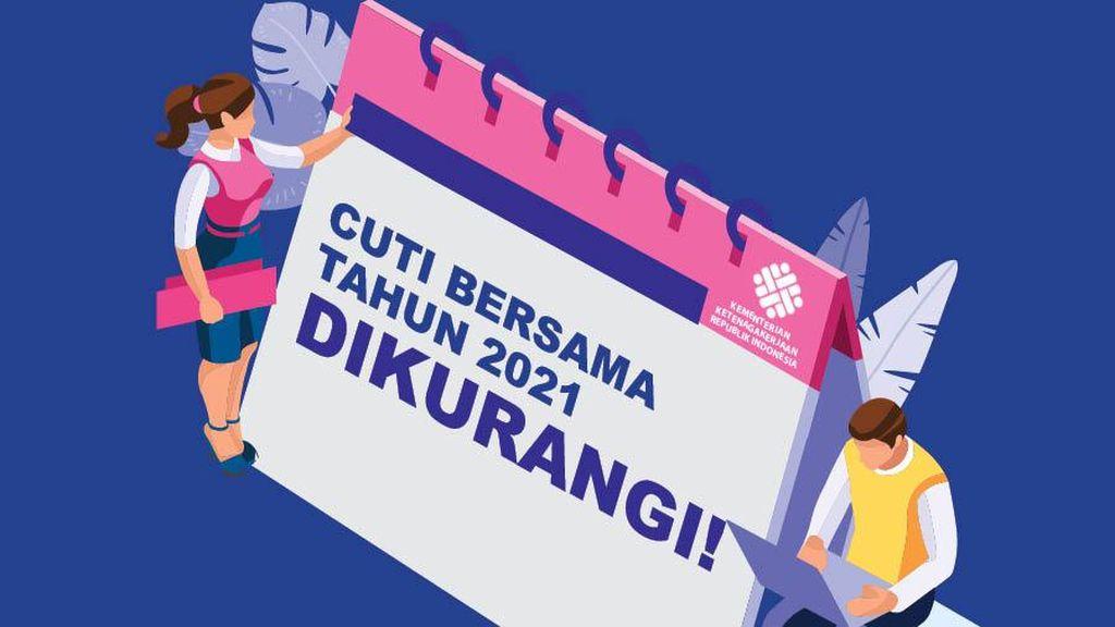 Daftar Terbaru Cuti Bersama 2021