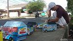 Demam Mainan Truk Oleng di Pangandaran