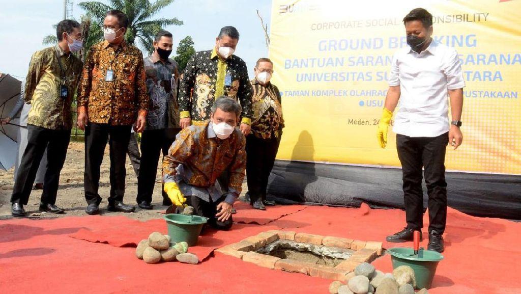 Dorong Pendidikan Tinggi di Sumatera Utara untuk Terus Maju