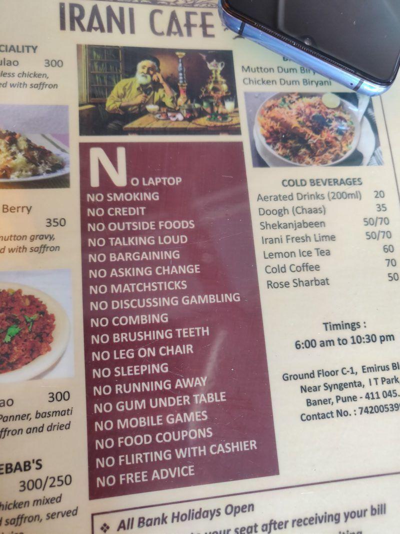 Duh! Restoran Ini Larang Pengunjung Curhat hingga Menyisir Rambut