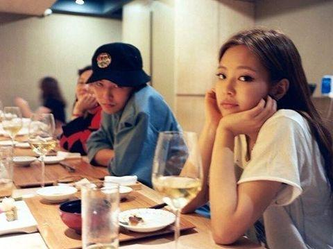 G-Dragon dan Jennie Blackpink