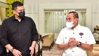 Senangnya Gubsu Edy Dikunjungi Bobby-Kahiyang: Keluarga Sejak Dulu Dekat