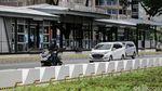 Potret Jalur Sepeda Permanen di Jalan Sudirman-Thamrin