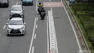 Pro-Kontra Rencana Pembongkaran Jalur Sepeda Permanen Jakarta