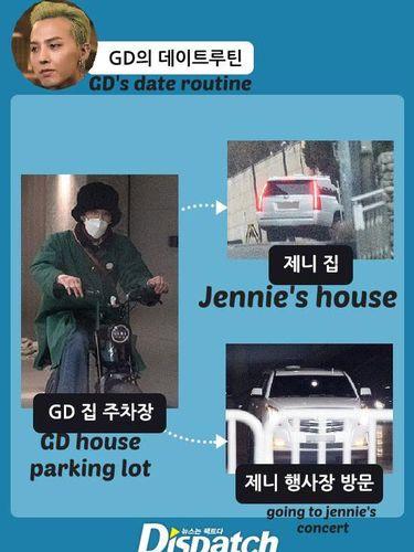 Jennie BLACKPINK dan G-Dragon
