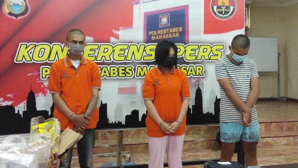 Antar Sabu Dikemas Bungkus Wafer-Detergen, Kakak-Adik di Makassar Ditangkap