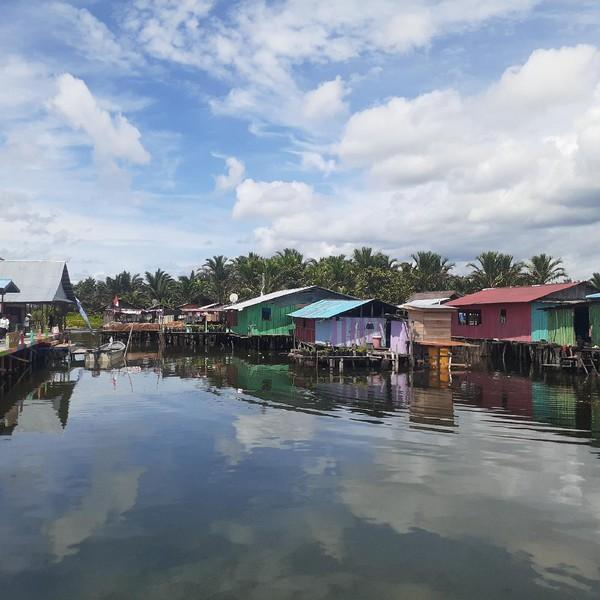 Kampung Yoboi berada di Distrik Sentani, Kabupaten Jayapura.(Hari Suroto)