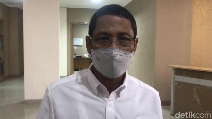 Kepala Badan Pelaksana BPBD Sumbar, Erman Rahman (Jeka Kampai/detikcom)