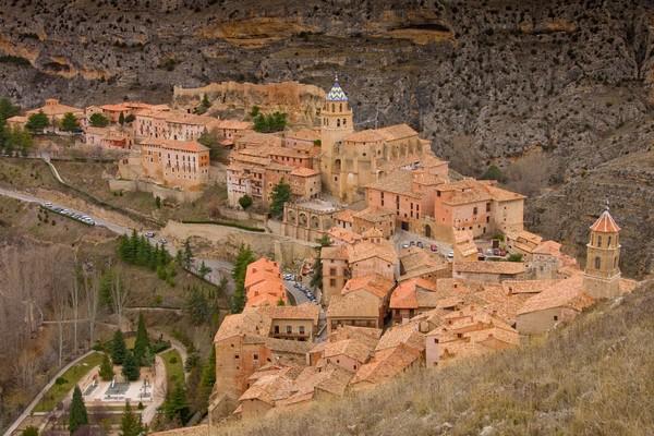 Albarracín dinyatakan sebagai Monumento Nacional pada tahun 1961. (Getty Images/iStockphoto)