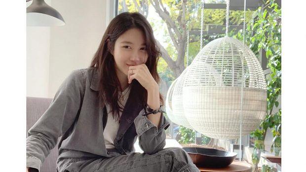Lee Ji-ah. (Tangkapan Layar Instagram @e.jiah)