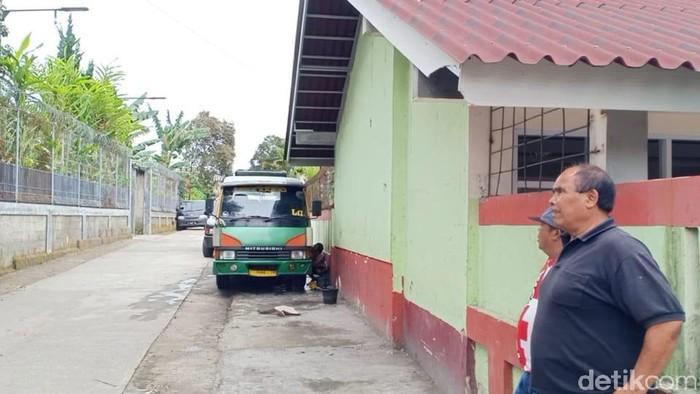 Lokasi pencurian mobil di Lembang Bandung Barat yang terekam CCTV