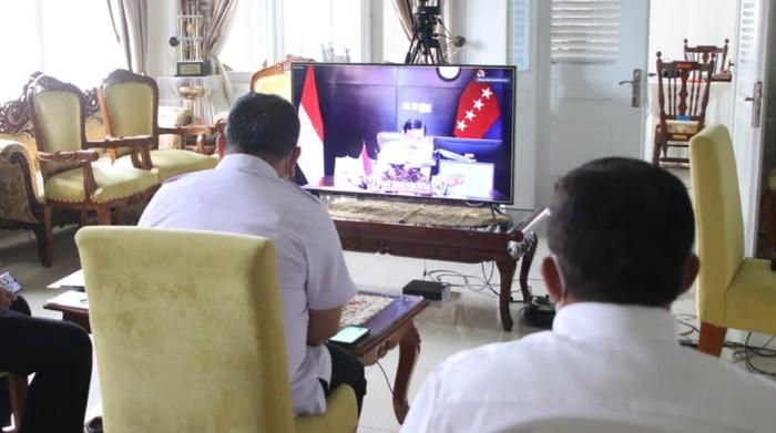 Luhut rapat koordinasi dengan Pemkab Sukabumi terkait pengembangan wilayah selatan