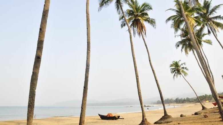 Pantai Agonda, Goa, India