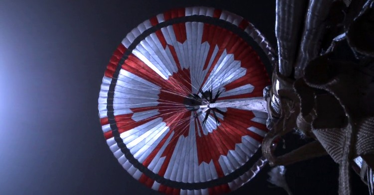 Parasut Perseverance NASA