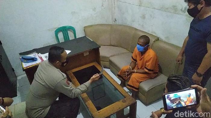 Pelaku pemukulan dan pembacokan di Garut ditangkap.