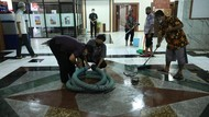 Sempat Tergenang, Banjir di Kantor Gubernur Jateng Surut dalam 1,5 Jam