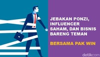 Podcast: Jebakan Ponzi, Influencer Saham, dan Bisnis Bareng Teman