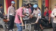 Polisi Sita 47 Motor Mencurigakan Ditampung di Sebuah Rumah di Solo