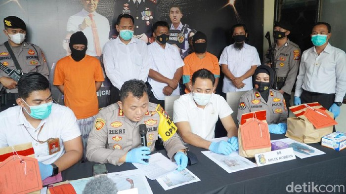 Polisi ungkap kasus pembunuhan wanita di NTB.