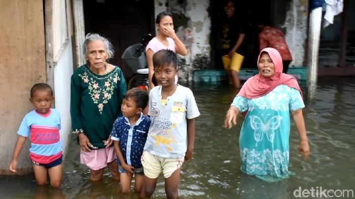 Potret banji di Kabupaten Pekalongan, Rabu (24/2/2021)