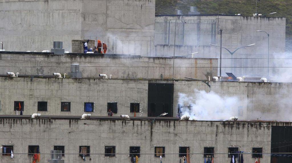Kematian 79 Orang di 4 Penjara Bikin Mendagri Ekuador Undur Diri
