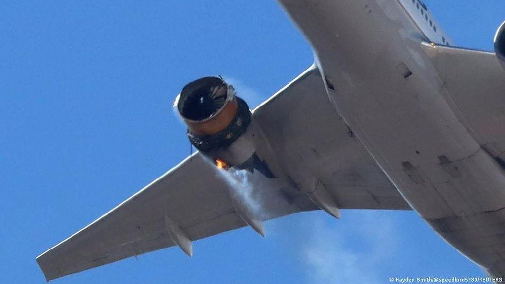 Regulator Penerbangan AS Perintahkan Inspeksi Mesin Boeing Secepat Mungkin