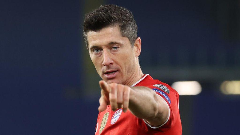 Robert Lewandowski Lagi Jadi Raja Gol di Liga Champions