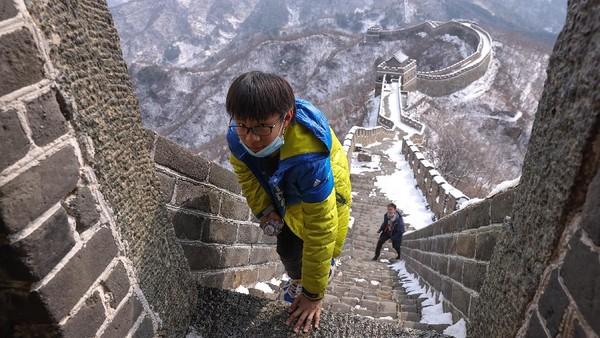 Diketahui Tembok Besar Mutianyu memiliki skala konstruksi terbesar dan kualitas terbaik di antara semua bagian Tembok Besar China.