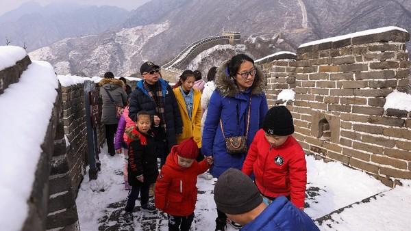 Tembok Besar bagian ini pun merupakan salah satu yang menarik pengunjung paling banyak.
