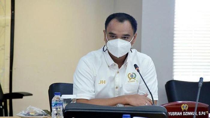 Sekretaris Fraksi Golkar DPRD DKI Jakarta Judistira Hermawan (Dok Istimewa/ Judistira memberikan fotonya kepada detikcom)
