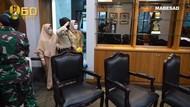 Momen Haru KSAD Jenderal Andika dan Istri Temui Kowad yang Derita Tumor Otak
