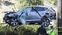 Fakta Baru Penyebab Kecelakaan Tiger Woods, Diduga Kuat Tidur Saat Nyetir