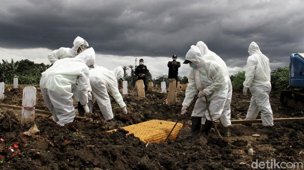 Pemakaman Jenazah COVID-19 di DKI Turun 2 Pekan Terakhir, Ini Datanya