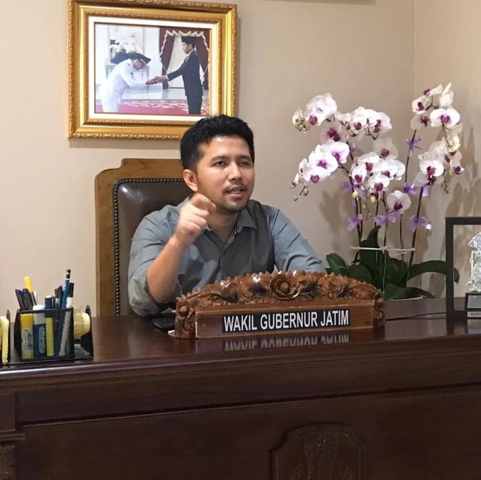Pemprov Jatim akan terus melakukan langkah afirmatif untuk pengembangan pendidikan SMK dan Vokasi. Seperti disampaikan Wagub Jatim Emil Elestianto Dardak.