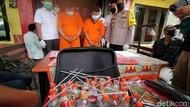 Polisi Gerebek Sebuah Gubuk Tempat Andok Sabu Budak Narkoba