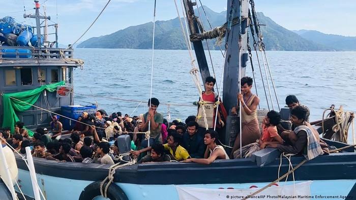 AS Kecam Malaysia Pulangkan Lebih dari 1.000 Pengungsi Myanmar