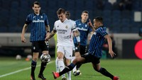 Atalanta Vs Madrid Tanpa Gol di Babak Pertama