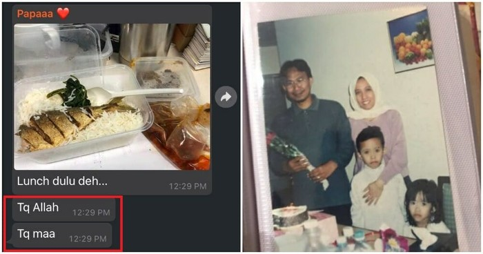 So Sweet! Suami Selalu Berterima Kasih pada Istri Tiap Kali Dibekall Makanan
