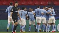 Man City Memimpin atas Gladbach 1-0 di Babak Pertama