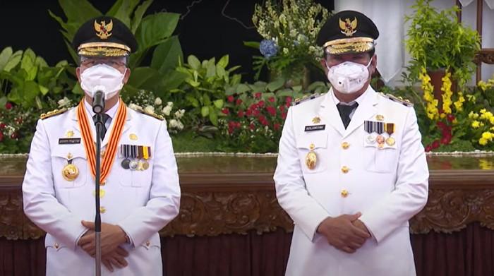 Gubernur Bengkulu Rohidin Mersyah