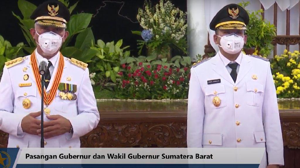 Dilantik Jokowi, Ini Janji dan Komitmen Gubernur Sumbar
