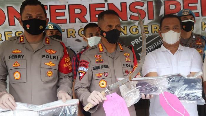 Kapolres Metro Tangerang Kota Kombes Deonijiu De Fatima  Foto Doc. Polres Tangerang